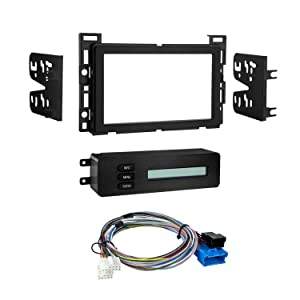 Metra 95-3303B Double DIN Dash Kit for Chevrolet and Pontiac (Black)
