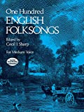 One Hundred English Folksongs, , 0486231925