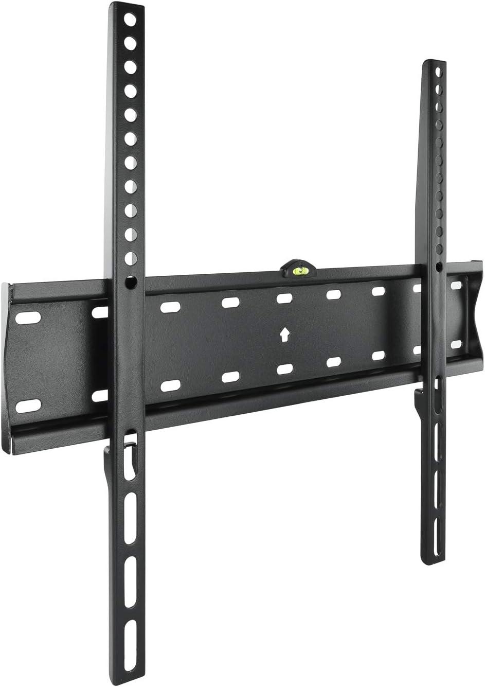 TooQ LP4155F-B, Soporte Fijo de Pared para Monitor, 1, Negro