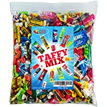 Assorted Candy Taffy Party Mix - Bulk Candy - 5 LB Bulk Bag: Laffy Taffy, Kits, Airheads, Tootsie Rolls, Salt Water Taffy and Much More of Your Favorite Taffies!