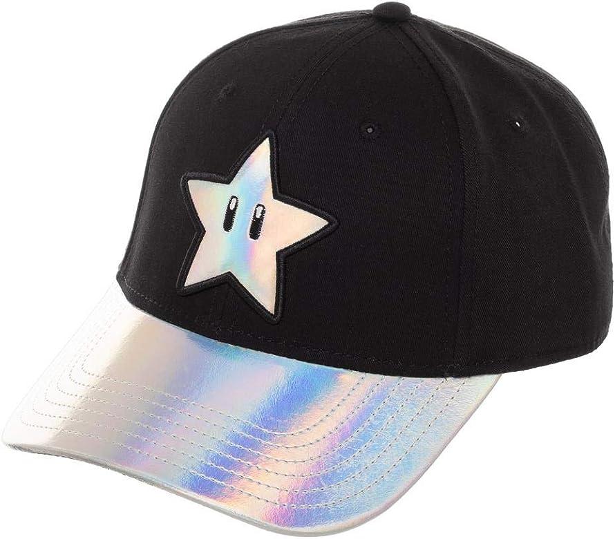 Nintendo - Cap Super Mario Star Ball Gorra de béisbol blanca ...