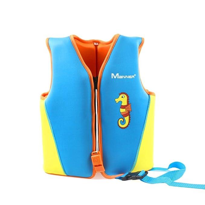Gogokids Chaleco de Baño para Niñas Niños - Chaleco de Natación Traje de Baño Traje de Flotación Aprenda a Nadar: Amazon.es: Ropa y accesorios