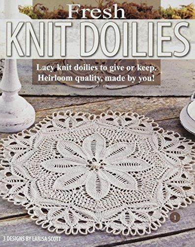 Doilies Leisure Arts - LEISURE ARTS-Fresh Knit Doilies