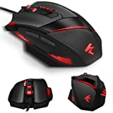 f86eeb37e3d Gaming Mouse Wired Programmable 7 Buttons - Hcman [Upgraded Version] Led  Backlit & 5 DPI Mode,Comfortable Grip with Fire Button,USB PC Gaming Mice,for  ...