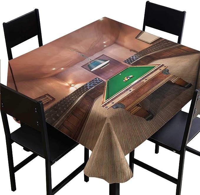 Glifporia - Funda para Mesa de Billar (70 x 70 cm), diseño Moderno ...