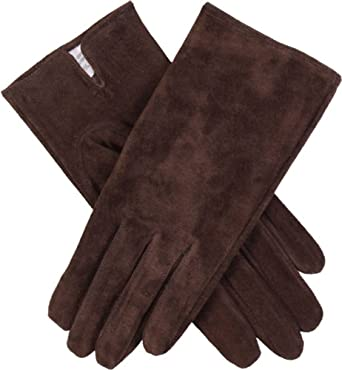 72e5cc430f7 Dents Womens Emily Plain Suede Gloves - Mocca Brown at Amazon ...