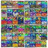 Best Fake Pokemon Cards - 100 PCS Poke TCG Style Card Holo EX Review