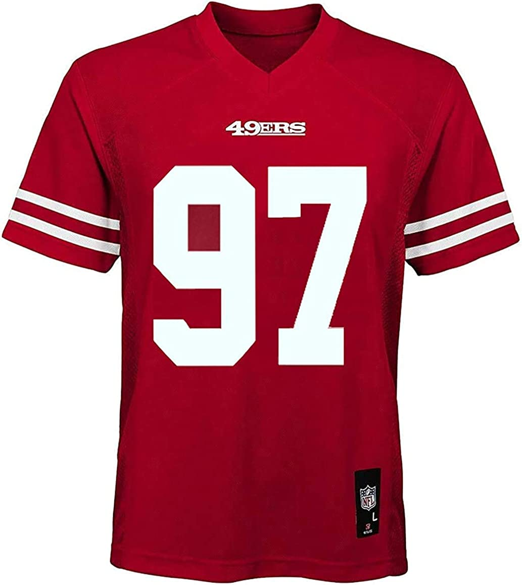Nick Bosa San Francisco 49ers NFL Boys Youth 8-20 Red Home Mid-Tier Jersey