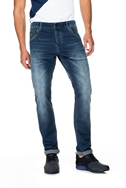 Salsa Jeans - Jeans Hombre Lima Tapered 115929 8503: Amazon ...
