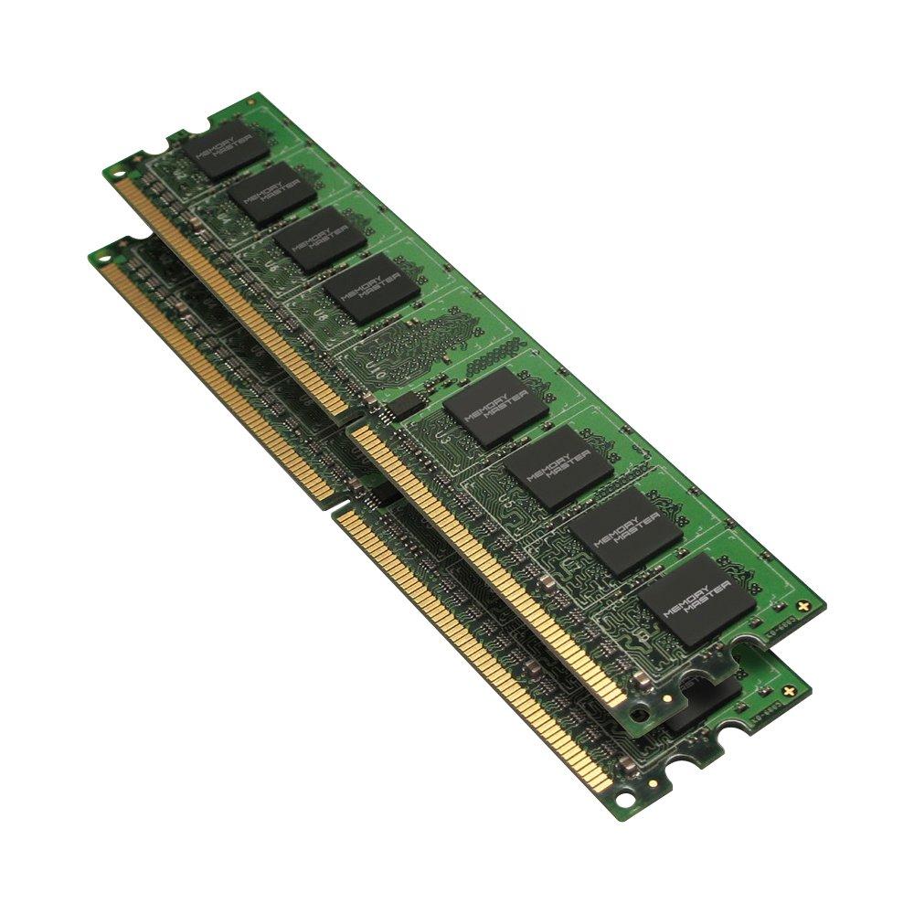 Memoria RAM 4GB Master (2 x 2GB) DDR2 800 MHz PC2-6400 DIMM Modules MMD4096KD2-800