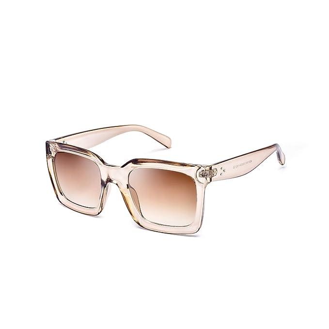 Mosanana Square Sunglasses For Women Men 2019 Fashion Shades by Mosanana