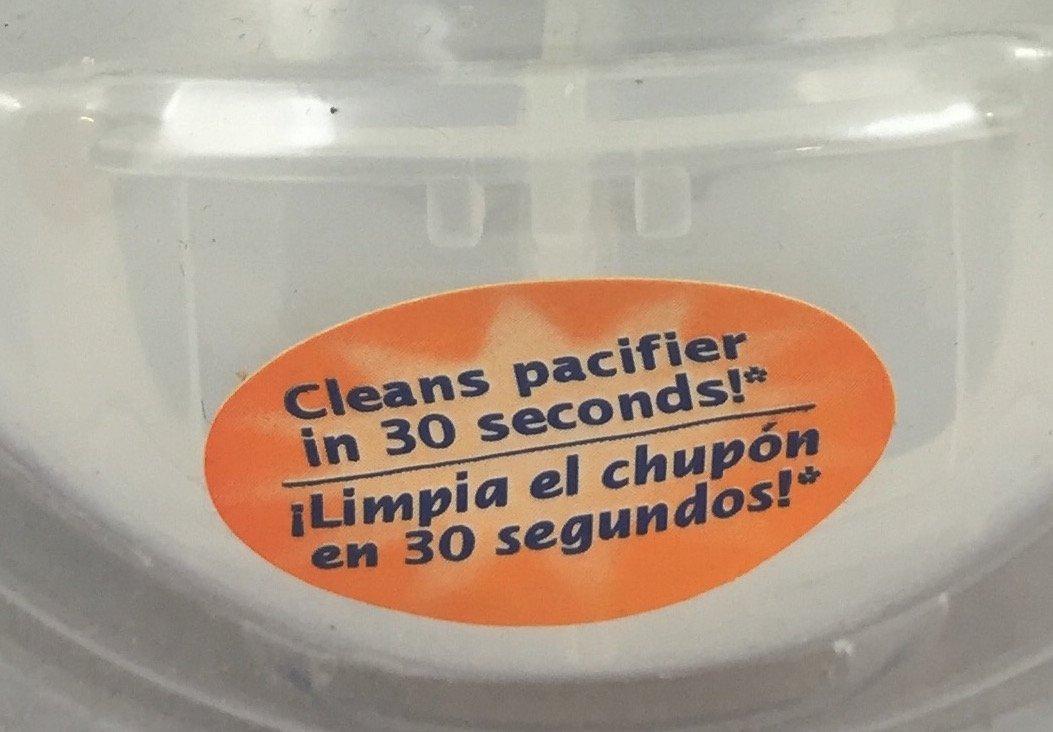 Amazon.com: Evenflo Mimi chupete con funda y limpiador: Baby