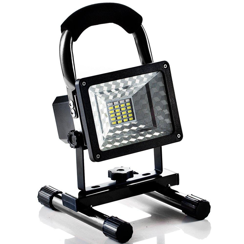 Foco LED Proyector L/ámpara Camping 15W Foco LED Reflector para Trabajo Exterior Terraza Patio L/ámpara Proyector LED Luz Port/átil para Trabajo de Noche Pescado Camping