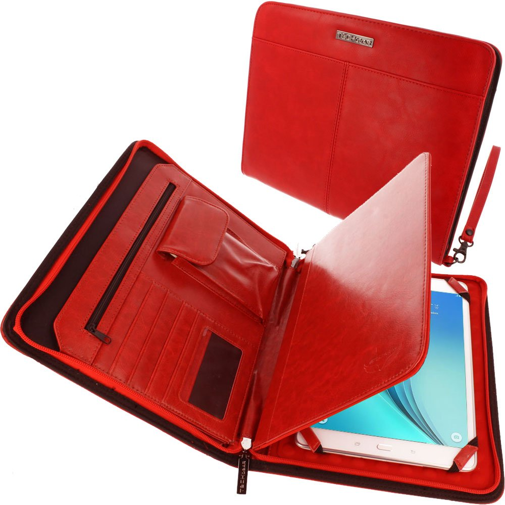 Sentinel Pro Sleeve 7 - Slim Neoprene Zipped Protective Sleeve Case Cover with Anti-Shock Bubble Interior fits Samsung Galaxy Tab A 7, Tab 3 7.0, Tab 4 7.0, Acer Iconia 7 and more TECHGEAR