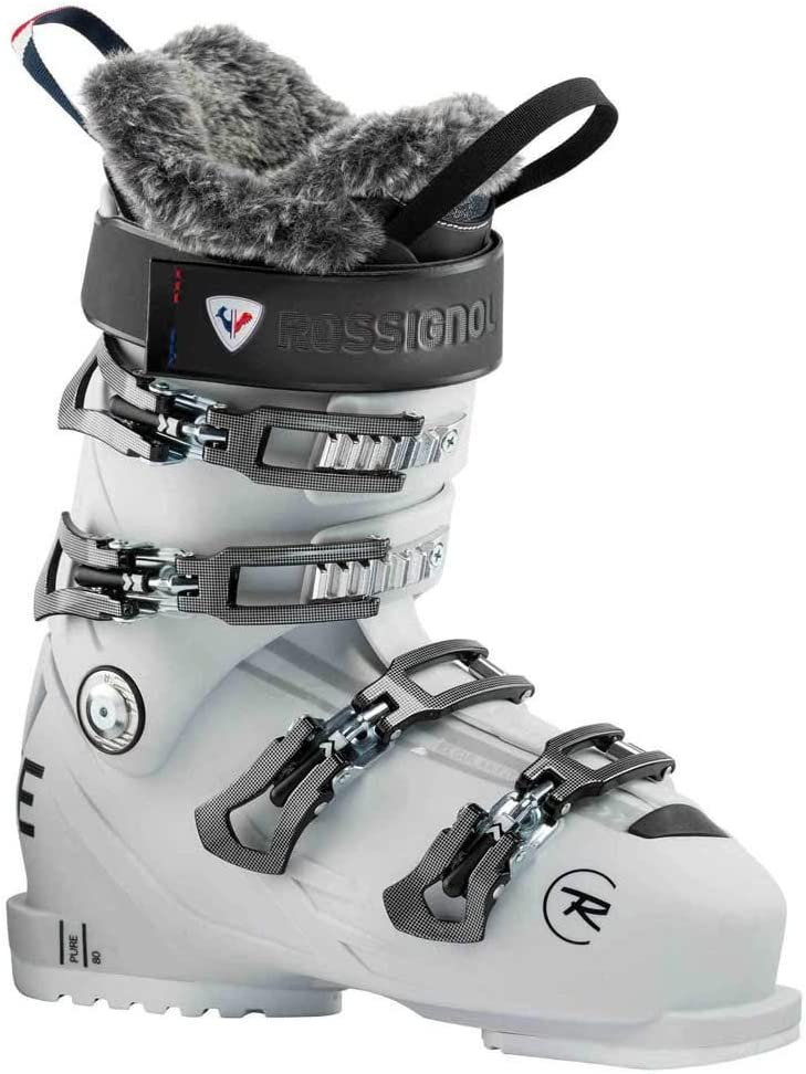 Rossignol Pure 80 Ski Boots 23.0 Women White Grey