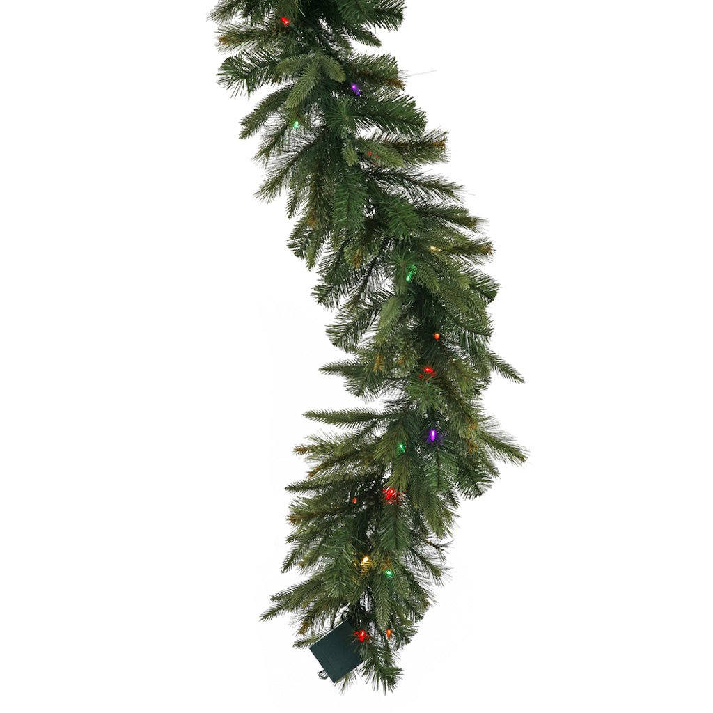 14 in. Cashmere Pre-Lit LED Garland