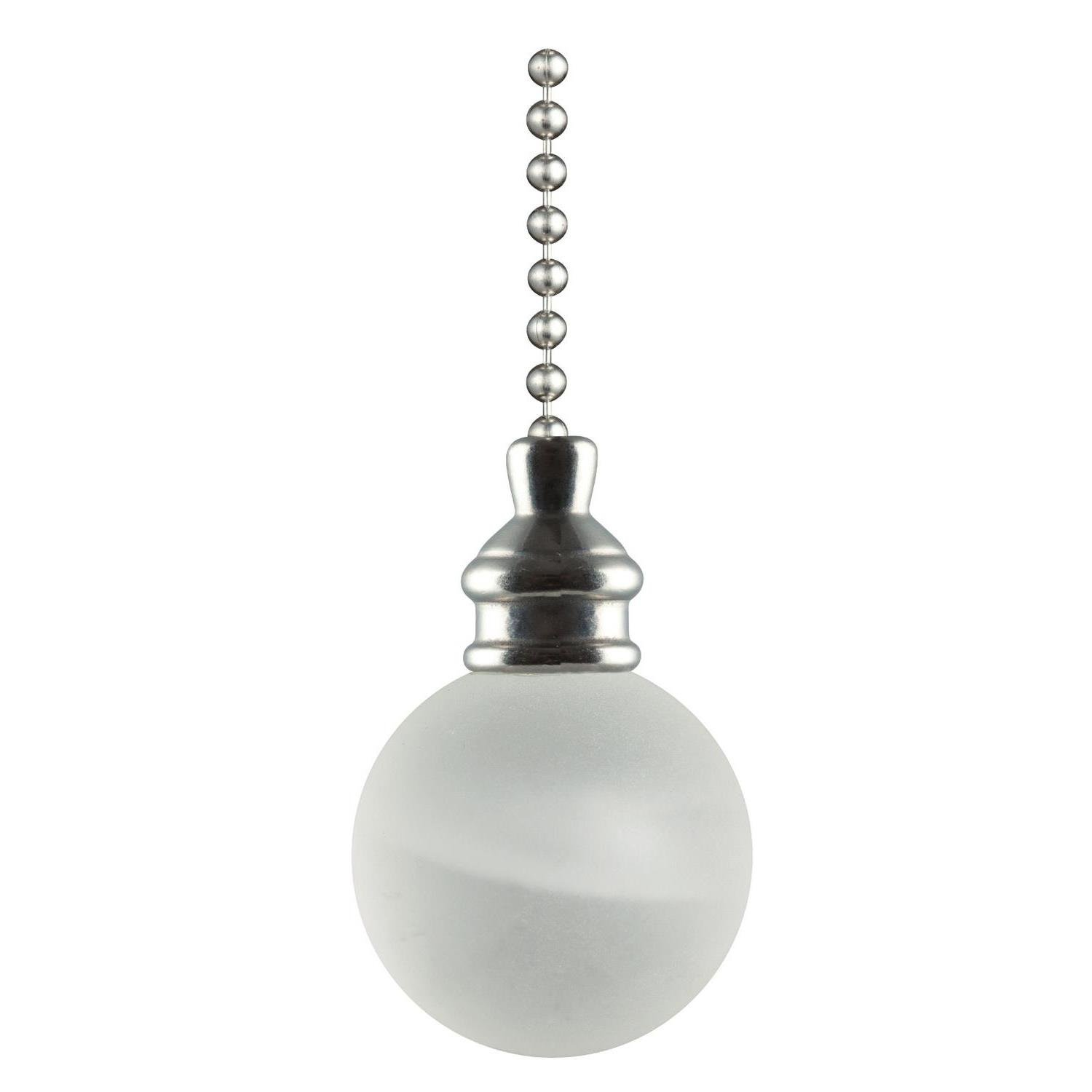 Westinghouse 7712300 Frosted White Alabaster Ball Pull Chain Westinghouse Lighting