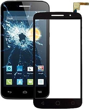 TANGJIANCHENG-PHONE ACCESSORIES Profesional Compatible con Alcatel One Touch Pop 2/7044 Pantalla táctil Accesorios duraderos for teléfonos móviles Partes (Color : Black): Amazon.es: Electrónica