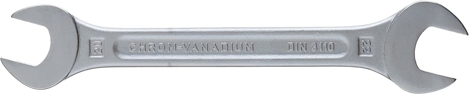 Heytec 50800101180 Cl/é /à fourche en Chrome-Vanadium 10 x 11 mm Argent