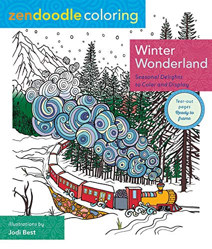 Zendoodle Coloring: Winter Wonderland: Seasonal Delights to Color and -