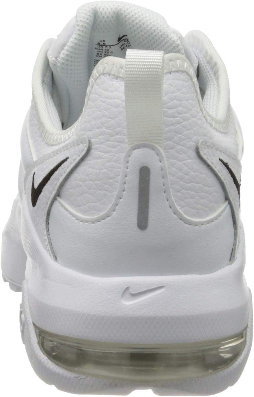Nike Air Max Graviton Lea, Chaussures de Running Homme Blanc White Black White 100
