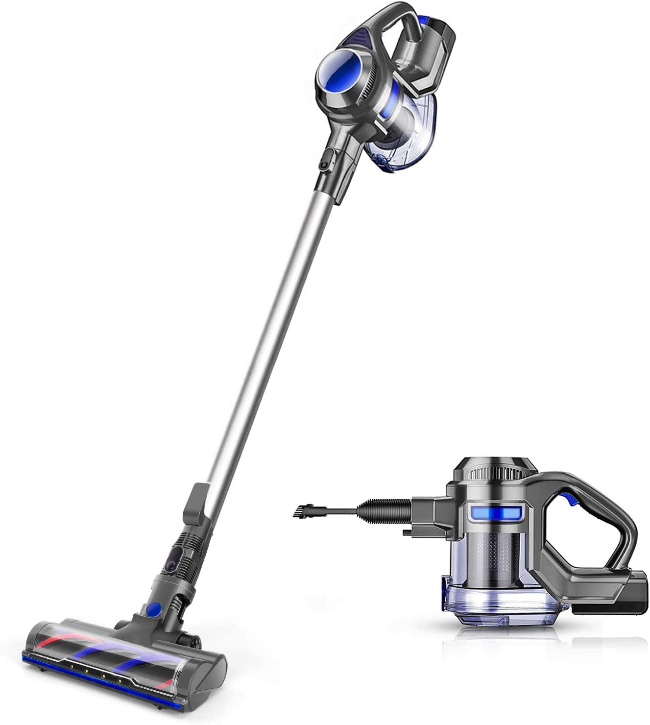 MOOSOO Cordless Vacuum Carpet Cleaner