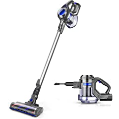 Product Image: MOOSOO Cordless Vacuum 10Kpa Powerful Suction 4 in 1 Stick Handheld Vacuum Cleaner for Home Hard Floor Carpet Car Pet - XL-618A, Lightweight