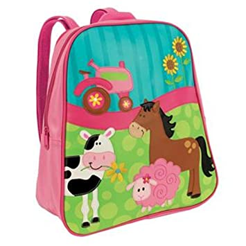Amazon.com: Stephen Joseph Girl Farm Backpack: