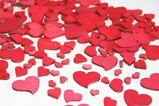 Streudeko Tischdeko Herz Hochzeit Valentinstag Herz in Herz silberf.