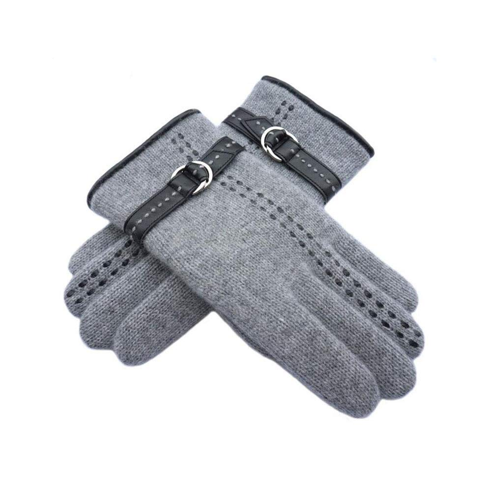 Dall Gloves Gloves Men's Cycling Sport Running Gloves Breathable Soft Warm (Color : Gray, Size : One Size) by DALL Clothing Accessories