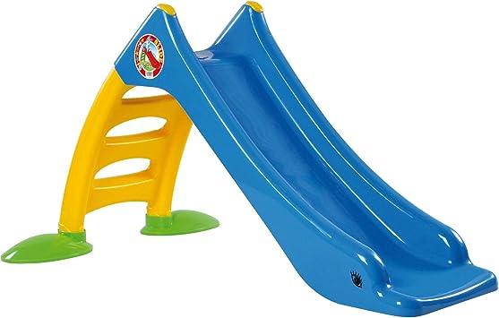 Tiktaktoo Estable Diapositiva del Niño para Niños Desde 1 Año Tobogán Jardín con Agua como Wasserrutschekinder Tobogán Diapositiva Exterior Jardín (Azul): Amazon.es: Juguetes y juegos