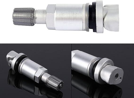 Keenso Tpms Tyre Pressure Sensor Valve Caps Repair Kit Auto