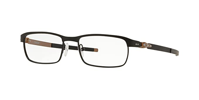 4cd8d57412 Oakley TINCUP OX3184-318405 Eyeglasses SATIN BLACK 50mm at Amazon ...