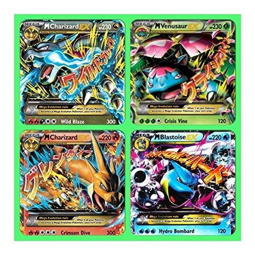 Pokemon Cards: 10 - Card EX LOT! All EX ONLY!! Full Art, Ex, Black Star & LV. X