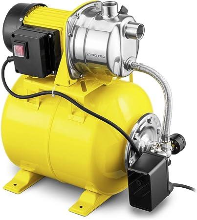 TROTEC TGP 1025 ES Bomba de Agua Doméstica aspersor para césped Bomba de jardín 1000 W 3300 l/...