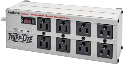 Image result for Tripp Lite 8-Outlet Surge Protector