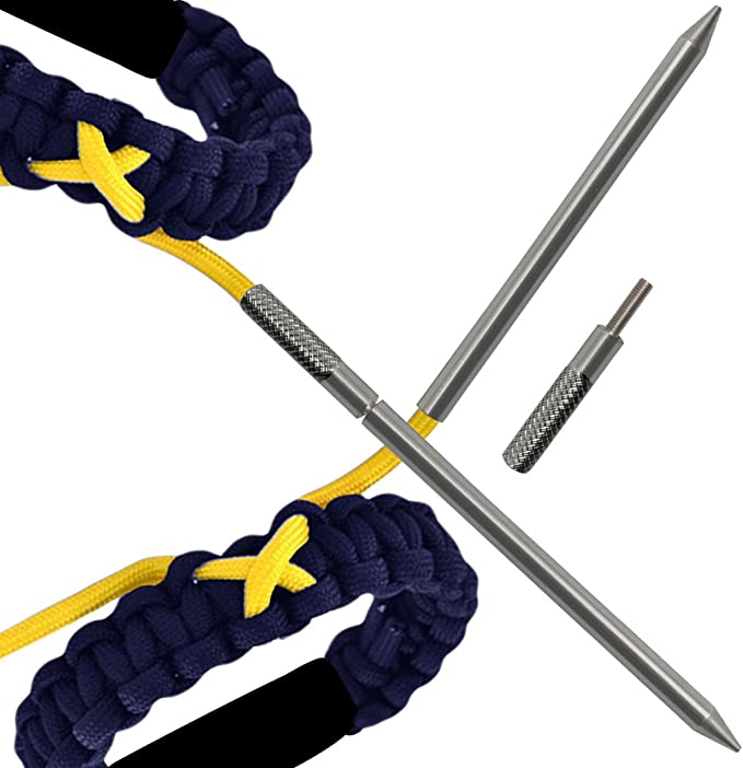 Combo Pack acero inoxidable FootMatters Agujas de paraca/ídas de acero inoxidable