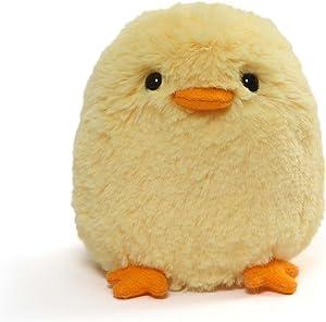 "GUND Egglet Chick Stuffed Animal Plush, Yellow, 4"""