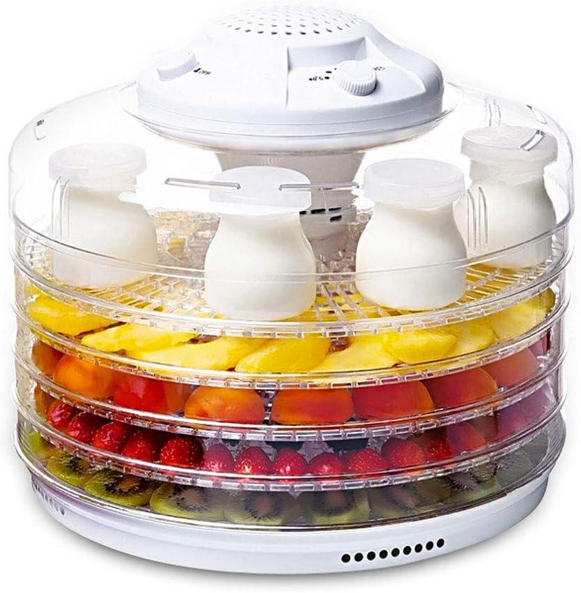 Deshidratador de alimentos y máquina de yogurt, bandeja de 5 capas ...