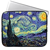 HESTECH 13-13.3 Neoprene Starry Night Laptop Case Computer Sleeve Compatible for 13' MacBook Air/Pro|iPad Pro 12.9|Dell HP Acer ASUS Samsung Lenovo Chromebook 13