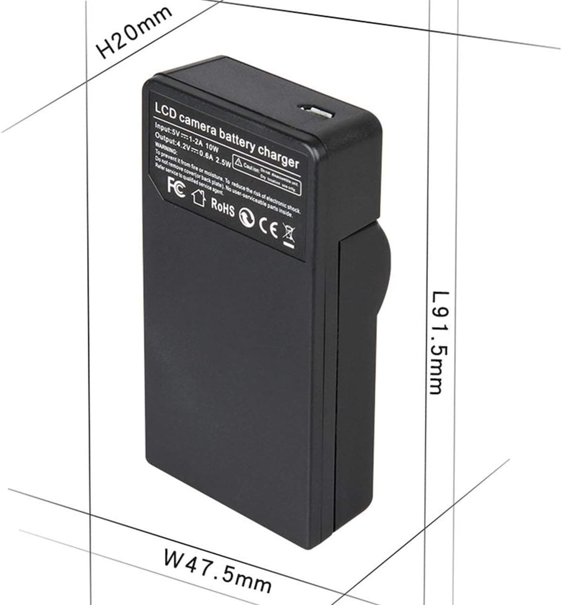 VP-D964Wi VP-D965Wi Battery Charger for Samsung VP-D963i VP-D975Wi Digital Camcorder
