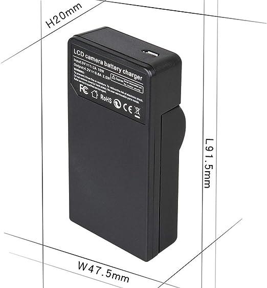 AG-AC8P AG-AC8PJ AVCCAM Full HD Camcorder LCD USB Battery Charger for Panasonic AG-AC8