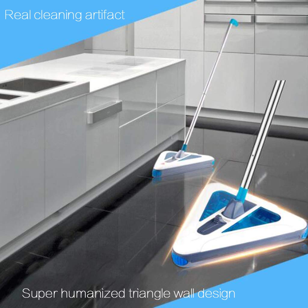 Wrwgl Electric Mop Floor Scrubber Cordless Electric Floor Mop and Microfiber Mop Pad for Cleaning Hardwood Floors and Tiles by Wrwgl