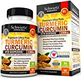 Turmeric Curcumin with Bioperine Anti-inflammatory, Antioxidant & Anti-Aging Turmeric Supplement. Joint Pain Relief with 95% Standardized Curcuminoids. Non-GMO Turmeric Capsules with Black Pepper