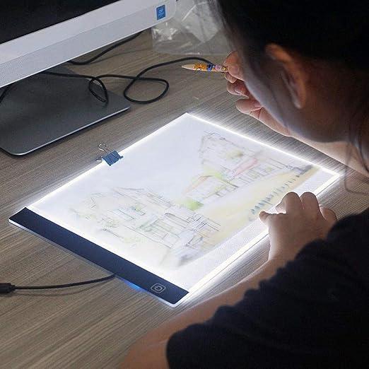 Mesa De Luz Dibujo Tableta De Dibujo Digital Portátil Tablero De ...