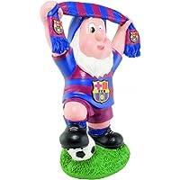 FC Barcelona Enano de jardín con bufanda