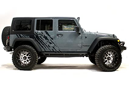 Good Jeep Wrangler 2007 2016 4 Door U0026quot;SPLASHu0026quot; Graphics Kit 3M Vinyl