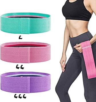 AOLIKES For Leg Butt Thigh Hip Trainer Workout Yoga Resistance Bands