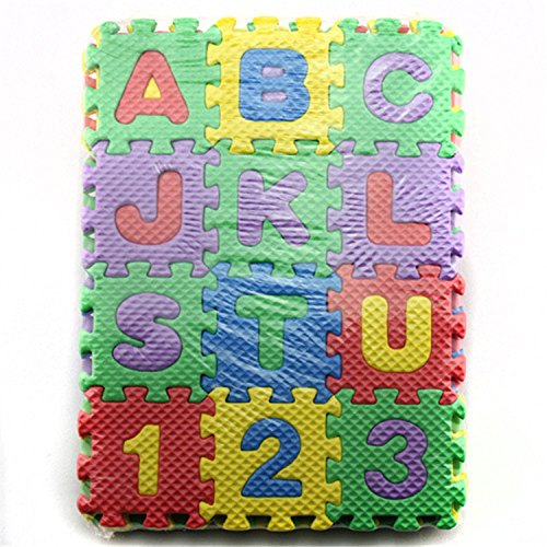 play puzzle mat child cartoon