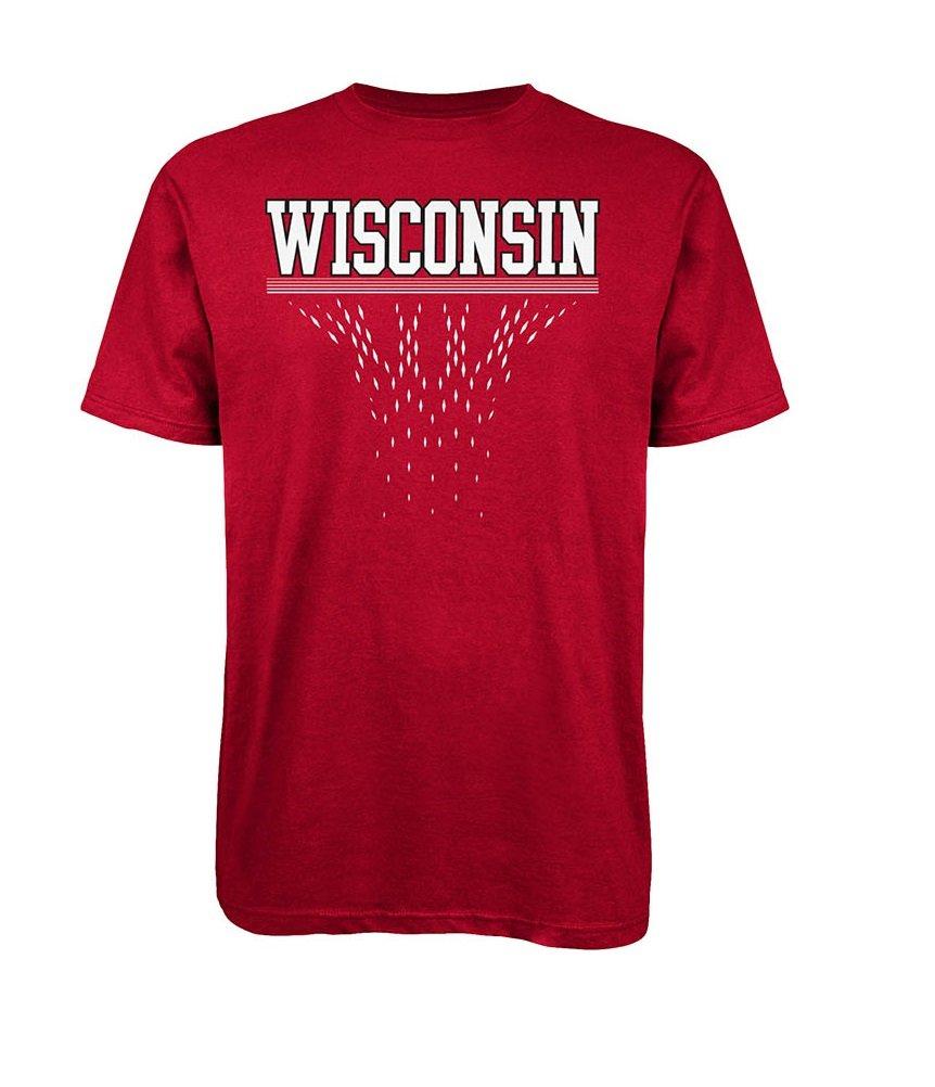 Wisconsin Badgers Diamond Cut S S 7845 Shirts